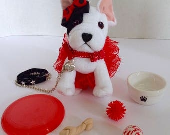 Fits Grace's Pet Dog Bon Bon American Girl Doll Accessories Set Only