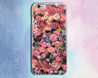 Flowers Roses case iPhone 7 case iPhone 7 case Phone 7 case Phone 7 iPhone Case iPhone phone 7  iphone 6/6s cases 6 plus phone case CZ198