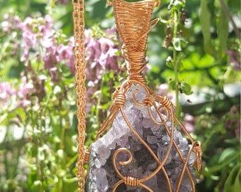 Spirit Amethyst Crystal Pendant