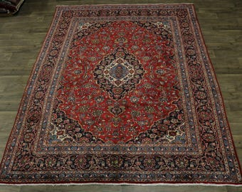 Stunning Traditional S Antique Plush Mashad Persia Rug Oriental Area Carpet 8X11
