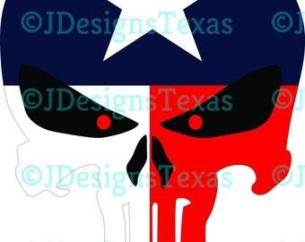 Texas Punisher SVG