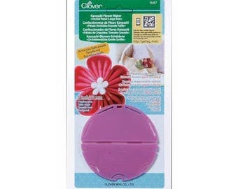 Flower maker Orchid petal CLOVER Kanzashi - large model