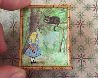 Alice et le chat du Chechire