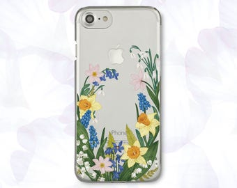 Flowers iPhone 6S Plus Case Floral iPhone 6 Case iPhone 7 Plus Case iPhone 8 Case iPhone X Case For Samsung S8 Case For Samsung S7 CBB1584