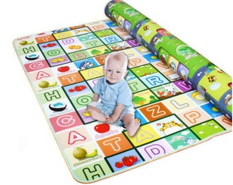 Hot Double Side Kids Play Rug