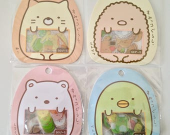 Sumikko Gurashi stickers cute kawaii animals polar bear cat penguin pork cutlet