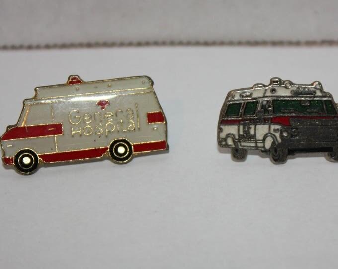 Vintage General Hospital Soap Opera TV Show Enamel Pinback button pin hat lapel
