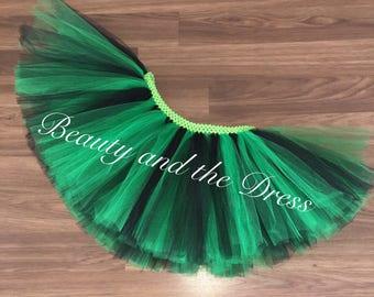 St. Patrick's day, st. Paddys day, st.patricks day tutu, green tutu, black tutu, shamrock tutu, holiday tutu, leprechaun tutu, st.paddys tut