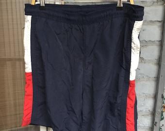 Vtg Tommy Hilfiger flag shorts sz Large 90s