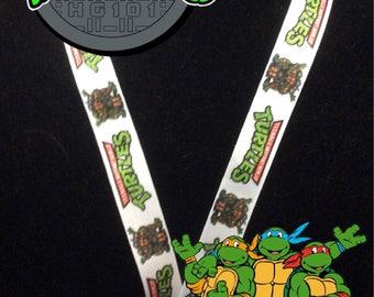 TMNT Ninja Turtles Lanyard