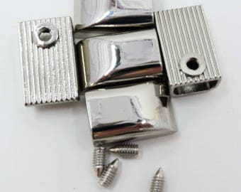 Zipper Ends, Cord Ends, Nickel, Emmaline Bags, Tote, Bag, Handbag, Purse, Zipper Stop