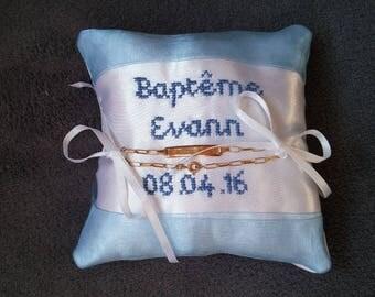Mini pillow door baptism bracelet