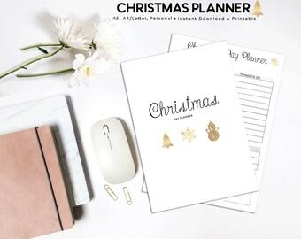 Christmas Planner, Holiday Planner, Festive Planner, Christmas Planning, Printable Planner, Christmas Printables, Christmas Budget, Xmas