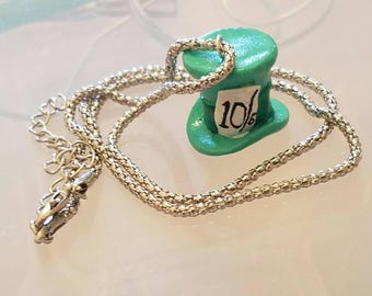 Mad Hatter Hat Classic Necklace