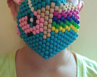 Kandi Rave Mask - unicorn