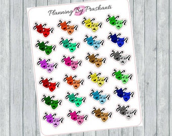Multicoloured Theatre Musical Masks Planner Stickers - For Erin Condren Life Planner or Happy Planner