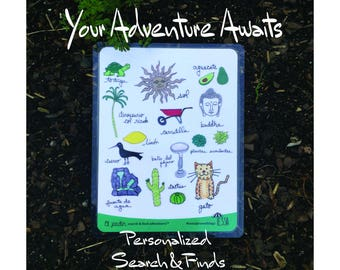 Your Adventure Awaits: Personalized Search & Finds, Eco-friendly and reusable scavenger hunts