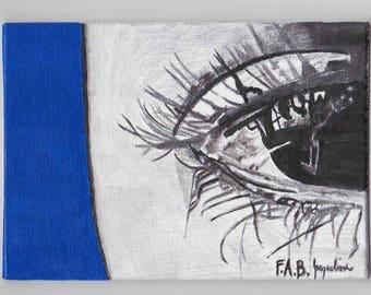 "Art Print - ""The Blues"""