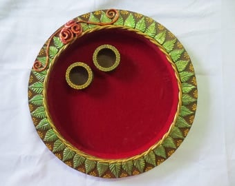 Puja Thali, Ring plate!!