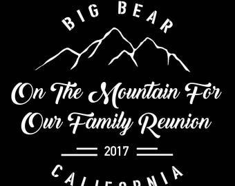On The Mountain Top Family Reunion