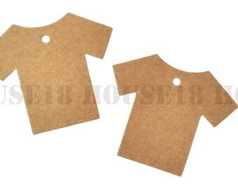 T-Shirt Price Tag Hang Tag Kraft Tag Brown Paper Tag Gift Tag Favor Tag Wish Tree Tag 900 PCS   with Hole   Blank