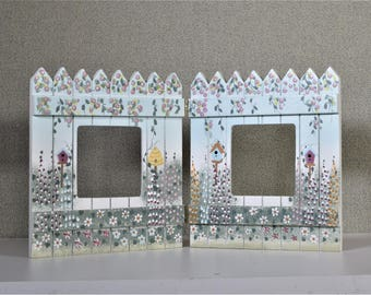 3x3 Photo Frame Double Country Gate