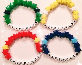 Hogwarts House Bracelets!