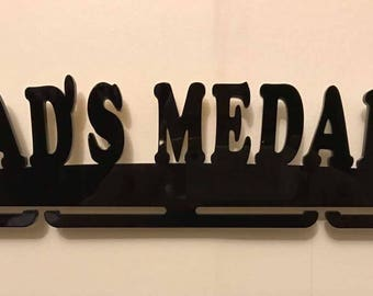 5mm acrylic medal rack for Father's Day