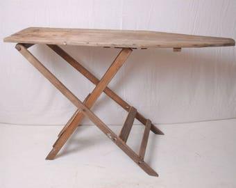 Wood Ironing Board, farmhouse ironing board, rustic Ironing