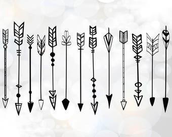 Arrow svg clipart, Arrow vector svg, png, dxf, Arrow SVG File, Digital Cutting File Graphic Design, Arrow svg clipart logo, Arrow Clipart