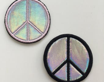 Hologram Holographic Peace Patch