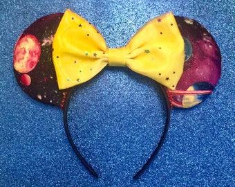 Space Mountain Ears, Tomorrowland, Disney Ears