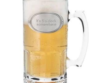 Beer Mug Engraved, Personalized Beer Mugs