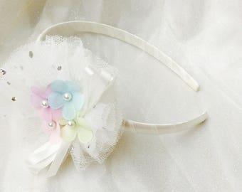 Baby headbands girls headband girls hairbands flower headbands flower hairbands tulle headbands