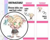 Callie- Happy Mail Stickers, Mail Stickers, Package Stickers, Kawaii Stickers, Character Stickers, Hand drawn Stickers