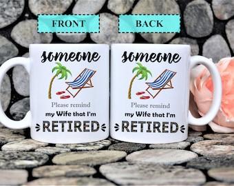 Gift for Retirement,Retirement gifts,Retirement mug,Retirement presents,Retired,Retirement gift idea,Retirement,Gift for Retired husband,mug