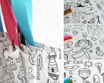 Tote bag color - choose Indian, Princess or Navy fabric