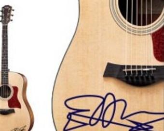 Ed Sheeran Handwriting guitar decal