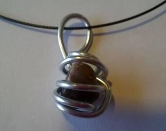 semi precious gemstone Choker