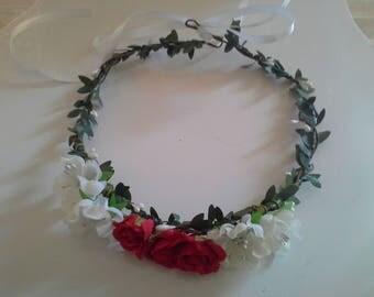 Wreath wedding christening cere
