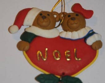 "Christmas decoration: hanging ""cubs"""