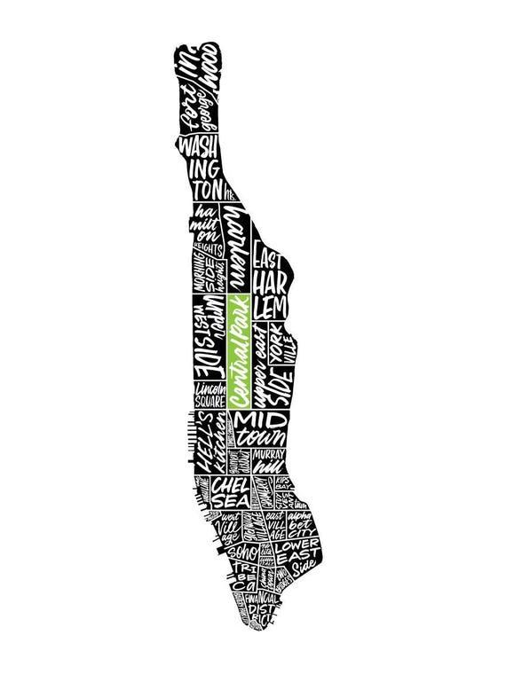 Lettered Manhattan