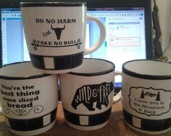 Vinyl Coffee Mugs