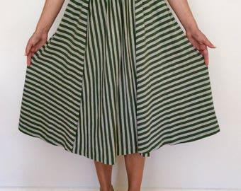 Marimekko cotton jersey skirt