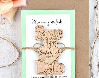 wedding save the dates wedding wood save the date magnet wood magnet wooden magnet save