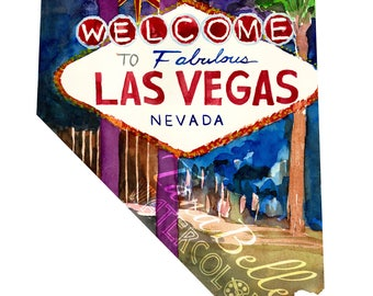 Nevada - Limited Edition Giclée Print