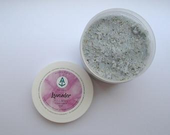 Lavender Full Body Sugar Scrub [Vegan & Organic] Teal Anchor