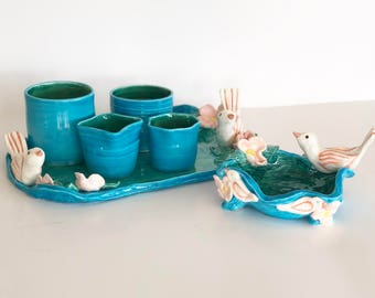 Powder Room Cups