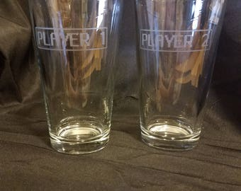 Player 1 and Player 2 glasses