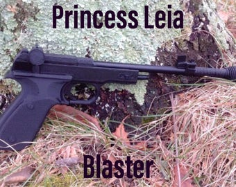 Princess Leia Star Wars Blaster Gun Kit DIY No Painting Required